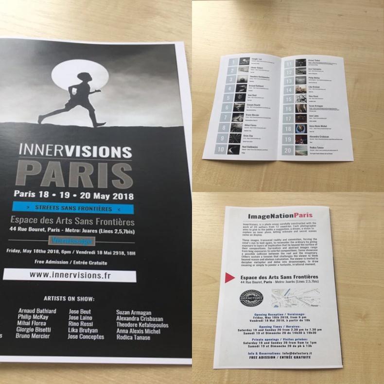 InnerVisions Parigi 18/20 Maggio 2018