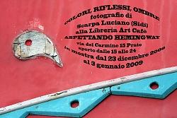 """""""Colori, riflessi, ombre"""" alla Libreria Art Cafè """"Aspettando Hemingway"""" di Prato"""