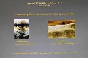 """Fotografia Europea 2015 Reggio Emilia Ristorante Enoteca """"Il Pozzo"""""""