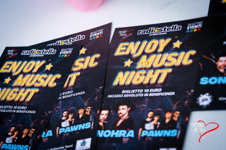 Enjoy Music Night, Piazza Calcagnini - Formigine (MO) Domenica 13 settembre 2020 Nell'ambito della rassegna Settembre Formiginese 🎶🎶🎶