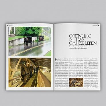 FAZ Magazine - Amish reportage