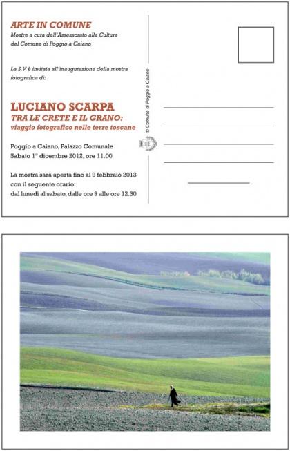 """""""Tra le crete e il grano""""  Arte in Comune, Poggio  a Caiano- Palazzo Comunale"""